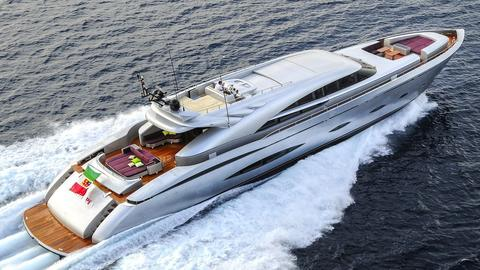 42m AB Superstylish Luxury Yacht