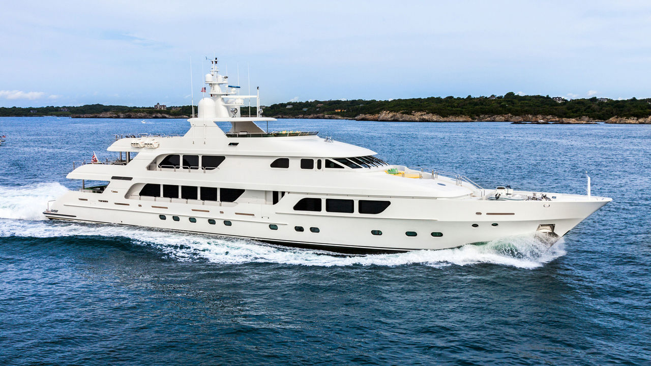 49m Christensen Luxury Yacht