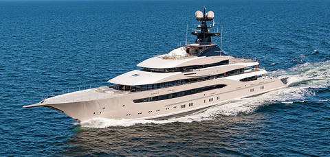 95m Lürssen Yachts Build 2014!