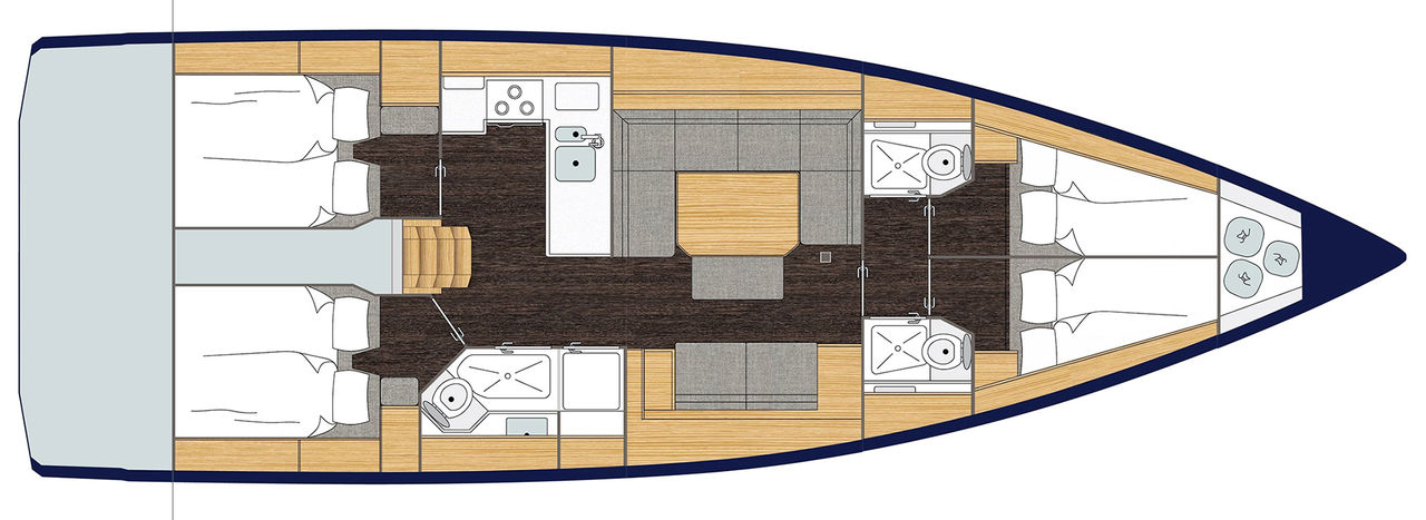 Bavaria C45 Style - picture 3
