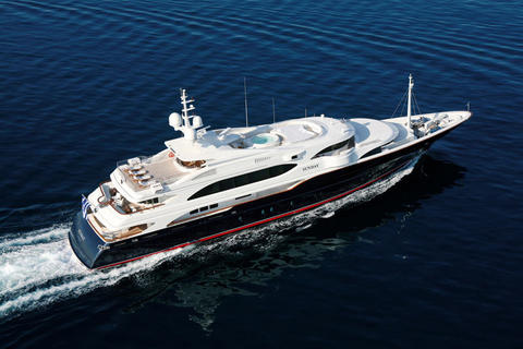 Benetti 60m Superyacht Greece!
