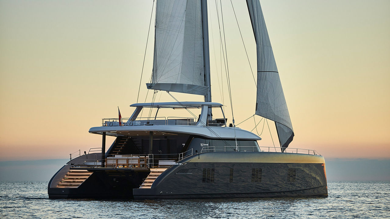Brandnew Crew Cat Sunreef 80ft