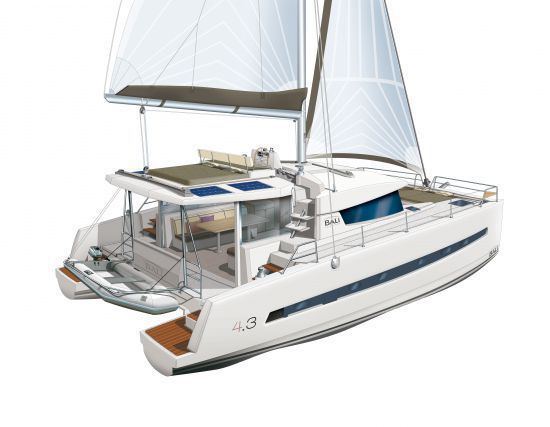 Catana Bali 4.3 with Watermakerfoto 2