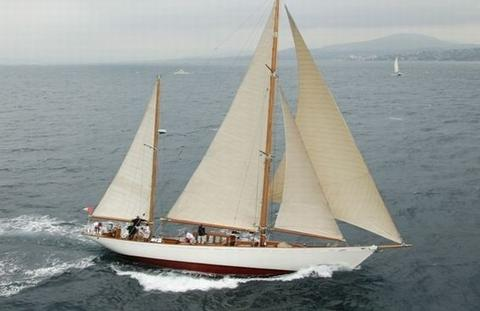 Segelboot Bermuda Ketch
