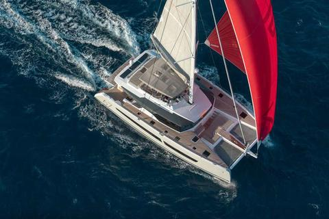 Fountaine Pajot 67ft Crew Cat!