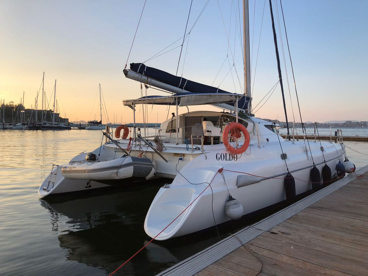 Fountaine Pajot Cumberland 44 for rent - Spain