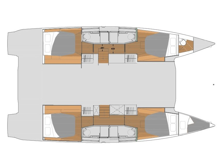 Fountaine Pajot Elba 45 - picture 2