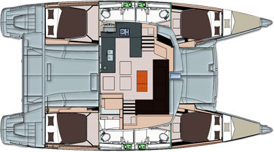 Fountaine Pajot Helia 44 - фото 2