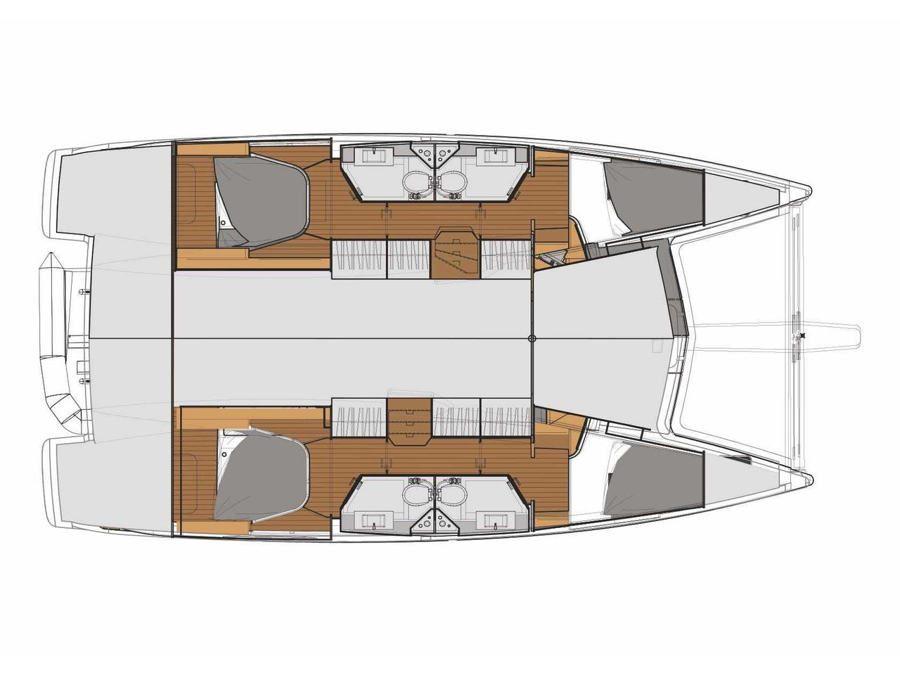 Fountaine Pajot Lucia 40 (4cab./4 hds) - image 2