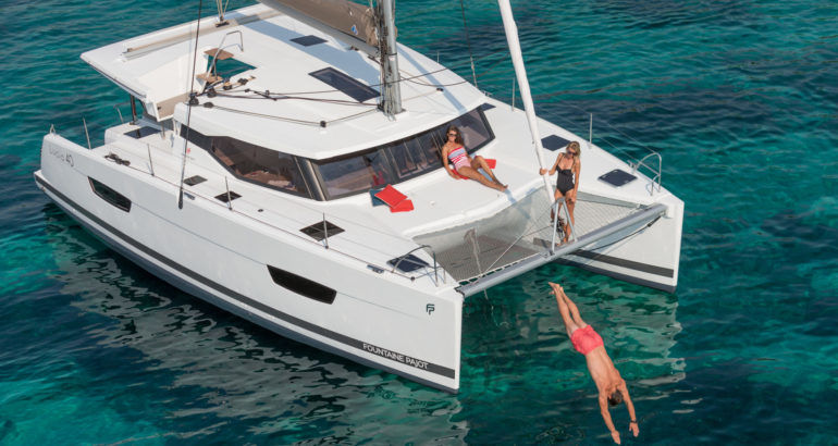 Fountaine Pajot Lucia 40fotka 2