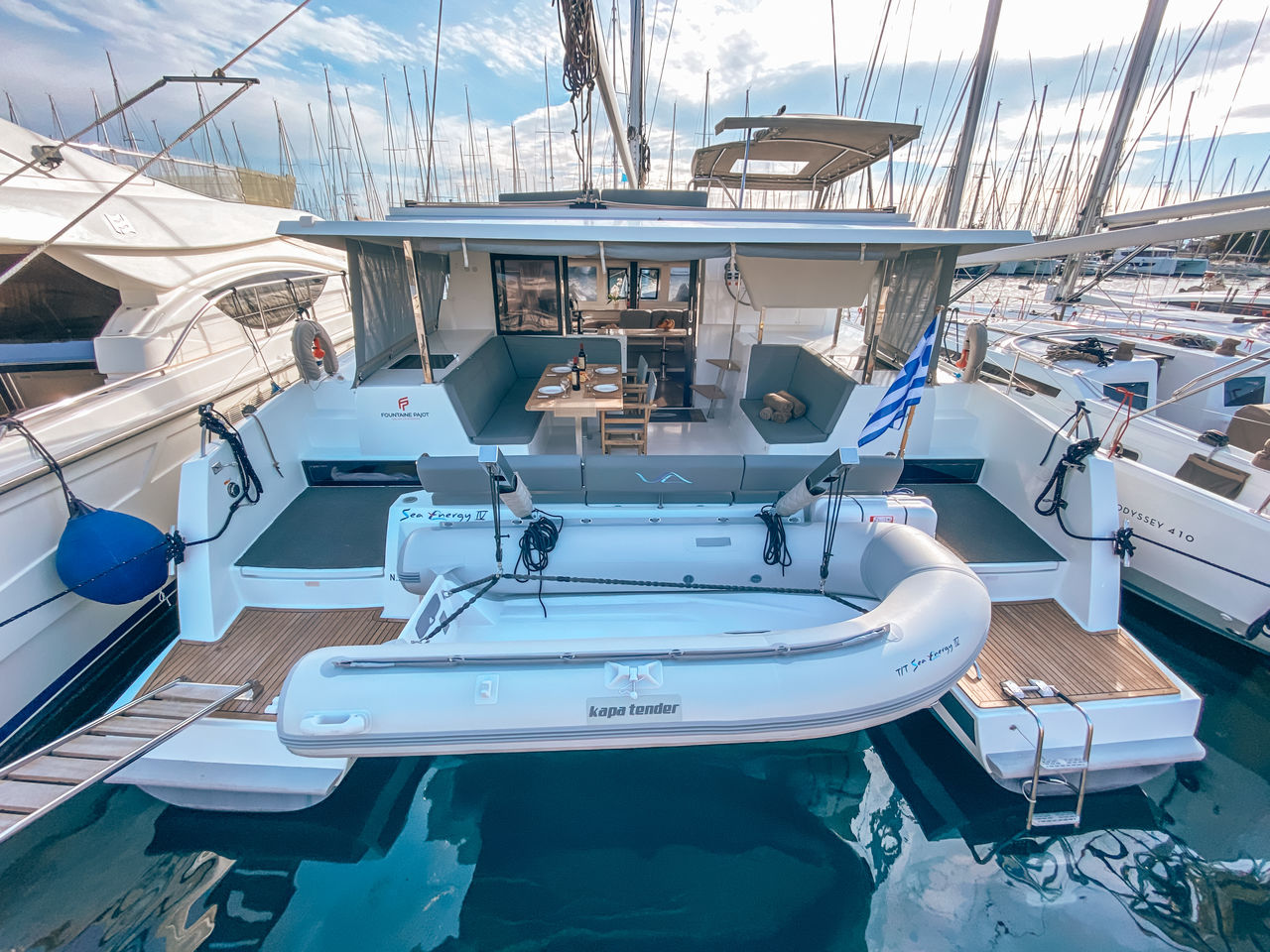 Fountaine Pajot Lucia 40 ( Inventer - Solar Panels