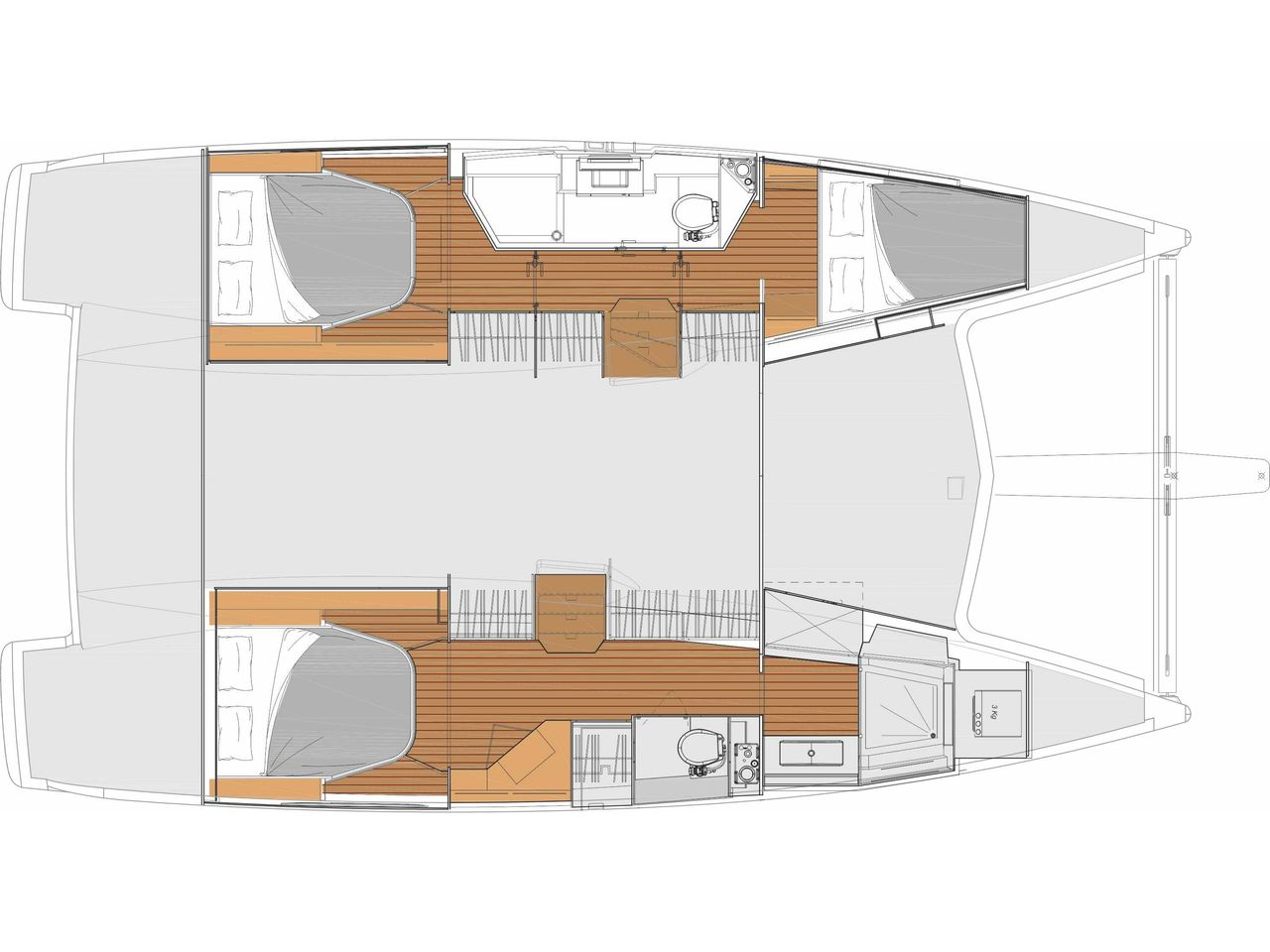 Fountaine Pajot Lucia 40 Owner Versionimmagine 2