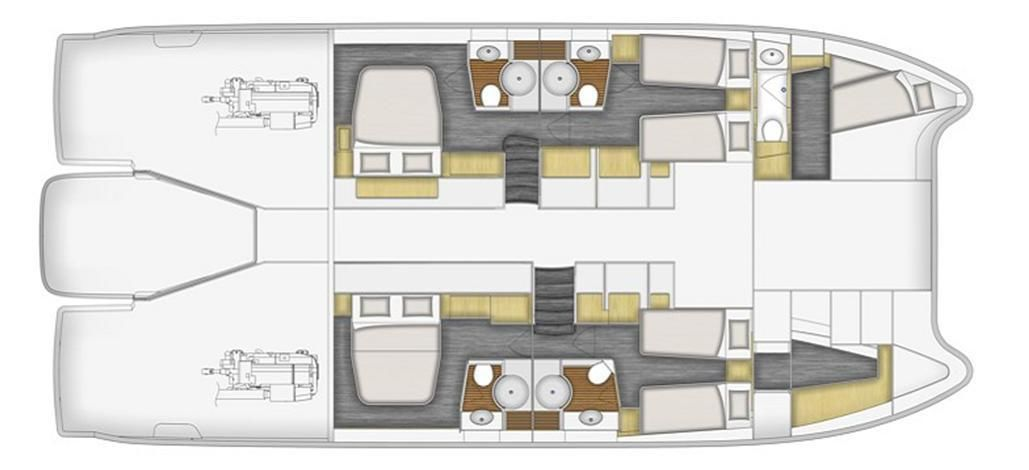 Fountaine Pajot Queensland 55фото 2