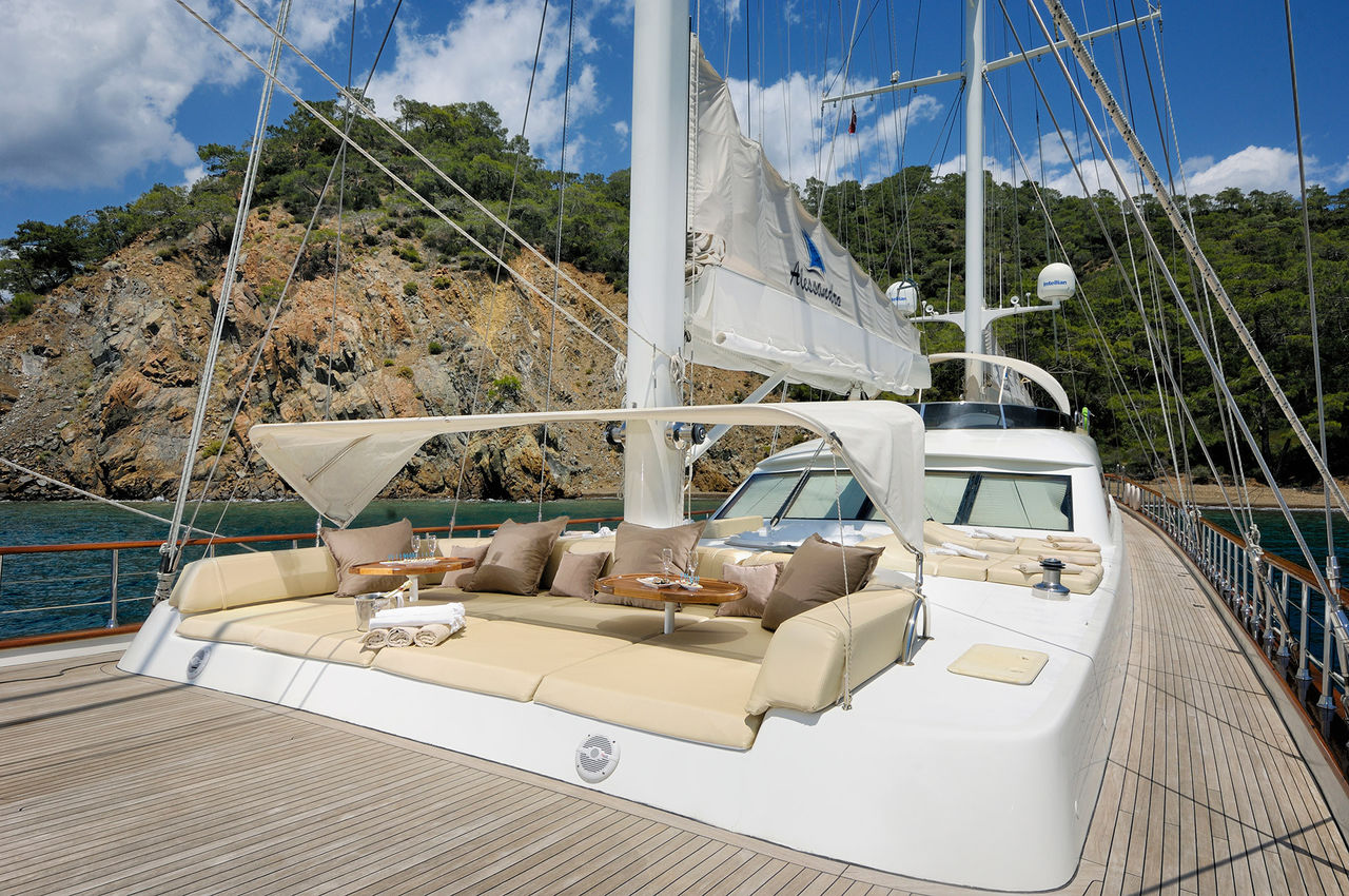 location de ketch r  yachtl - corfou