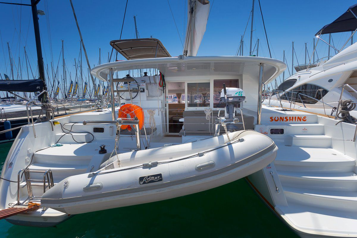Lagoon 400 s2 for rent split croatia for 400 hp boat motor price