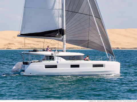 Lagoon 46 (skippered)