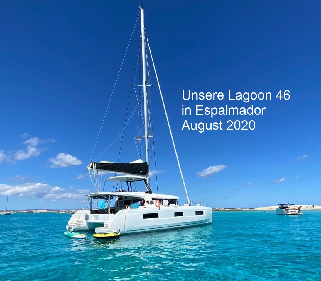 Lagoon 46 with top Features