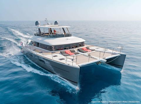 Lagoon 63 Power Catamaran