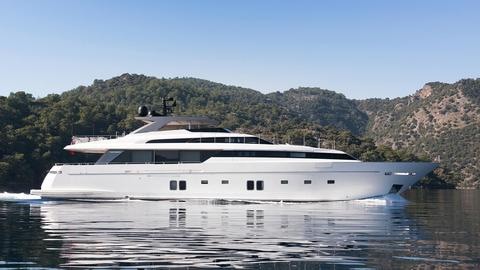 NEW 37m Sanlorenzo Superyacht!