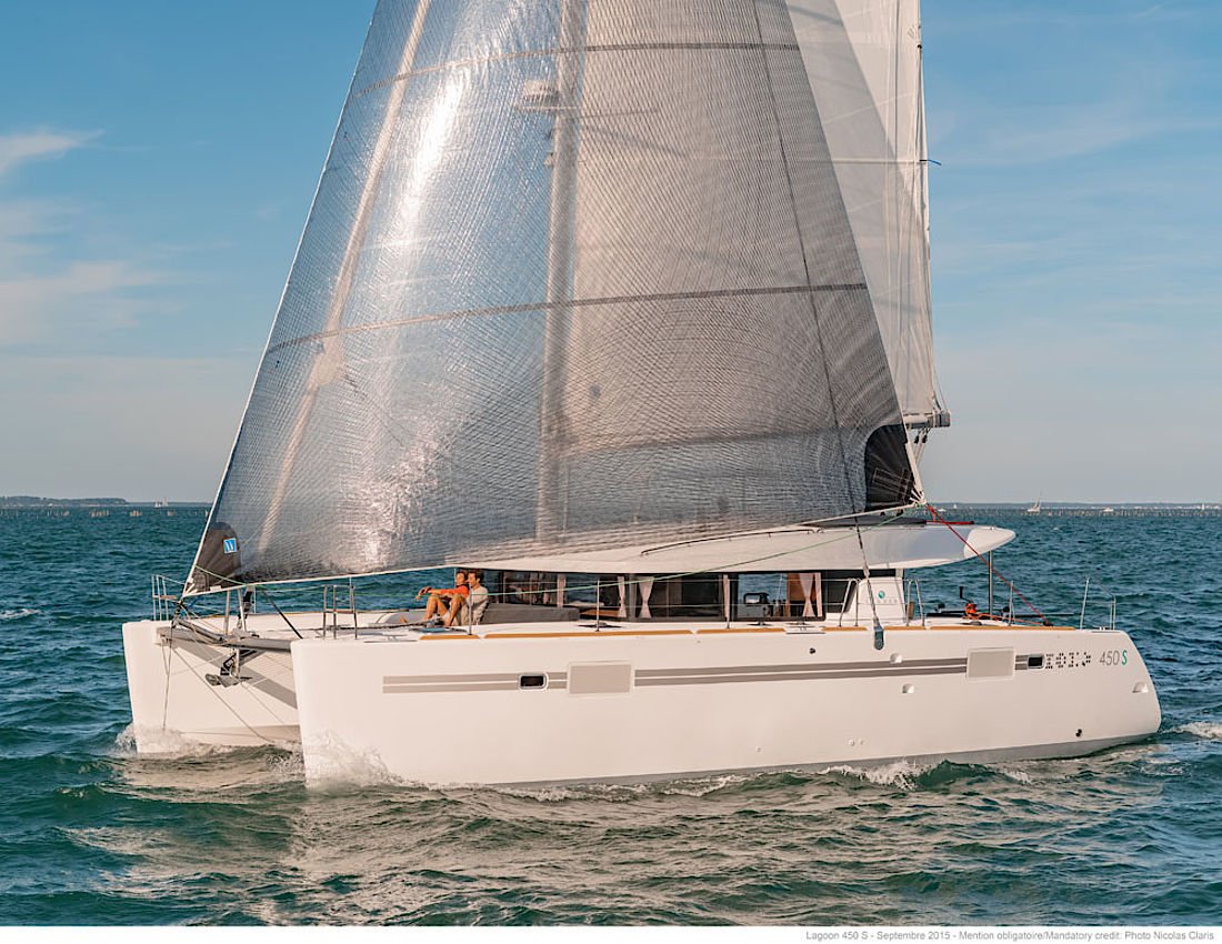 NEW Lagoon 450 Sport top - picture 1