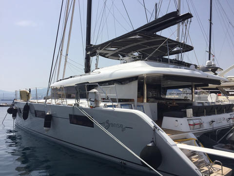 NEW Lagoon 620 Crew Catamaran!
