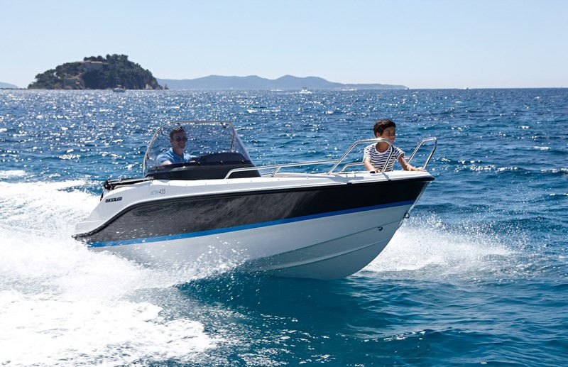 Quicksilver 455 Activ open