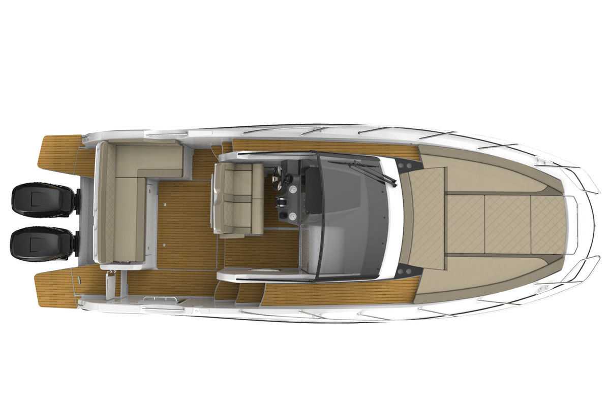 Quicksilver 875 Sundeck - фото 3