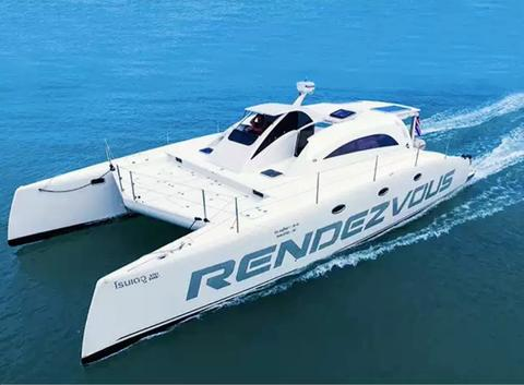 Stealth Yachts Rendezvous 44 ft