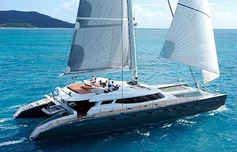 sailboat Sunreef 100ft