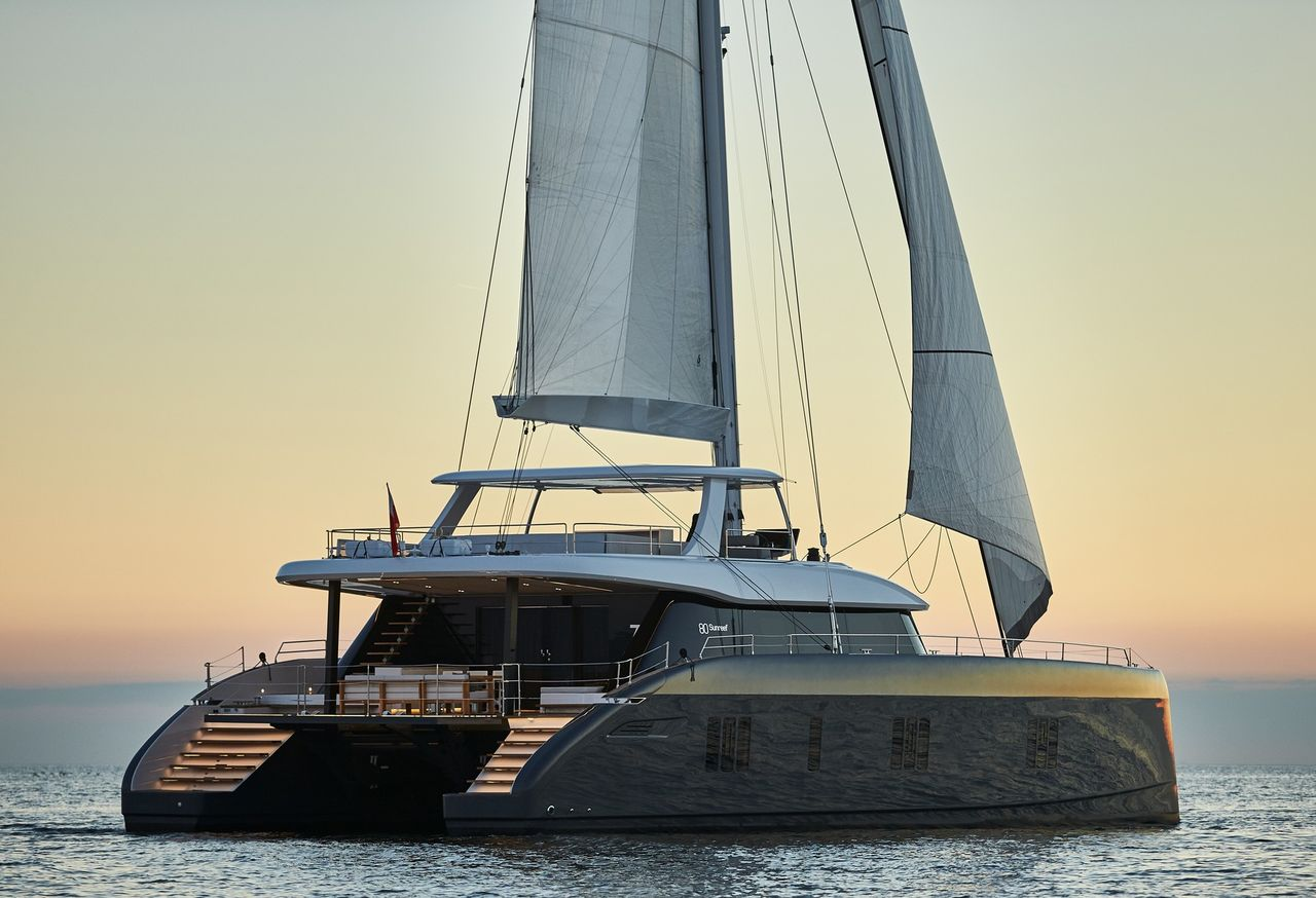 Sunreef 80 cat with Flybridge!