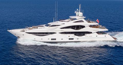 Sunseeker 131 Luxury Yacht