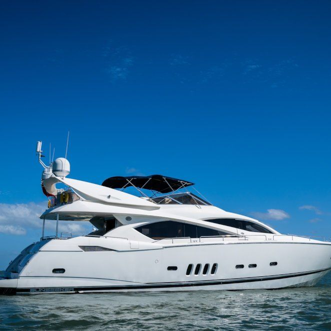 Sunseeker 82 with Fly!