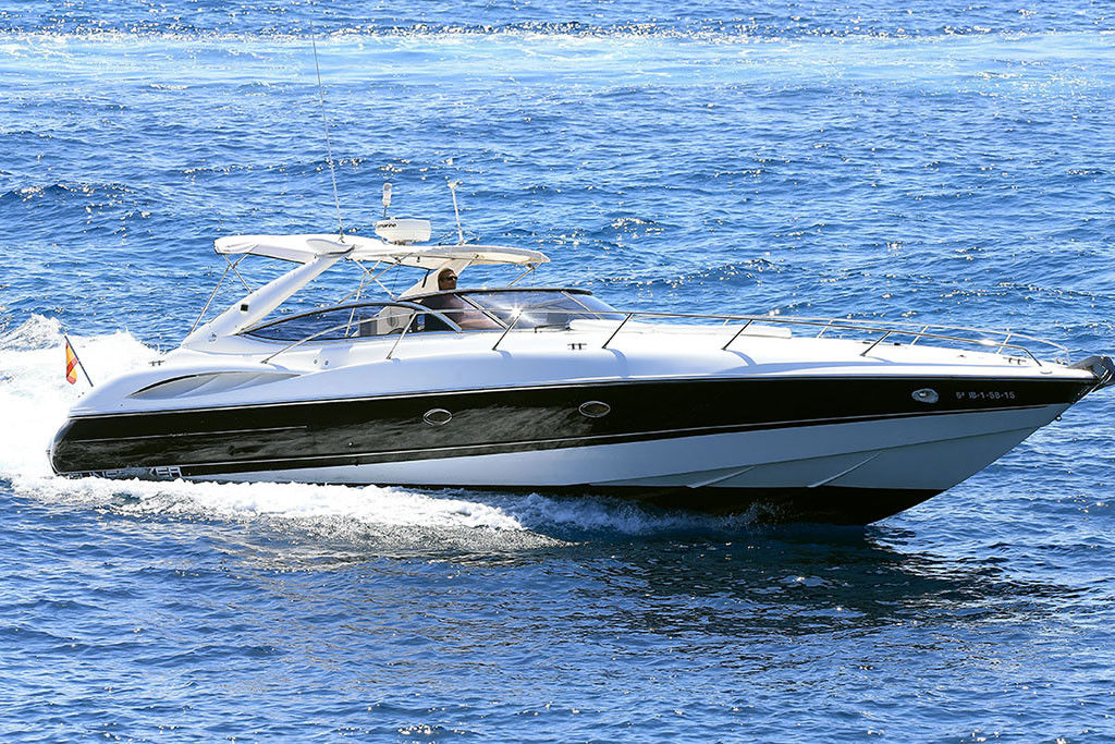 location de sunseeker superhawk 48l - eivissa