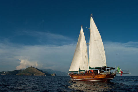 Ticari Yacht Customs Schooner