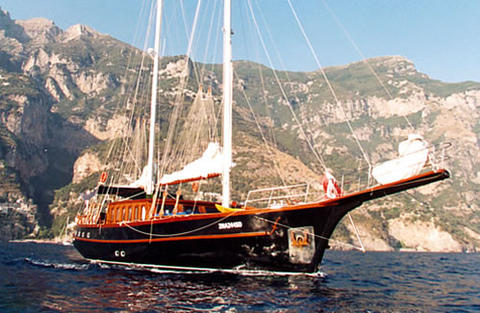 Segelboot Turkish Caicco