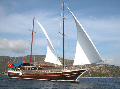 Turkish Motor Sail 24 mt - fotka 1