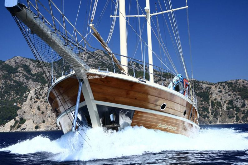 Turkish Motor sail Marmarisfotka 2