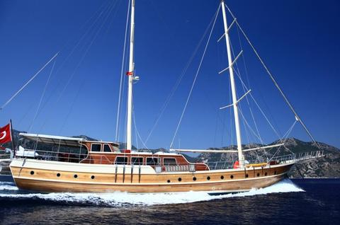 Segelboot Turkish Motor sail Marmaris