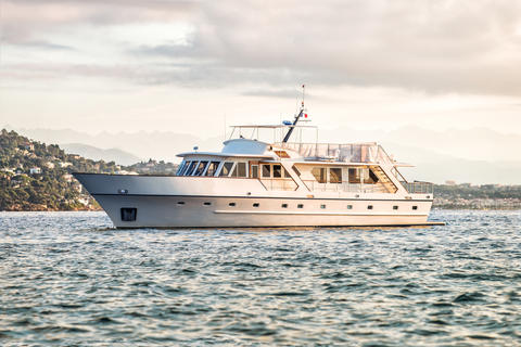 Visch Custom Motor Yacht 82ft